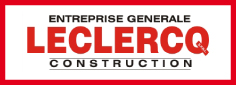 logo Leclerq construction  tilff